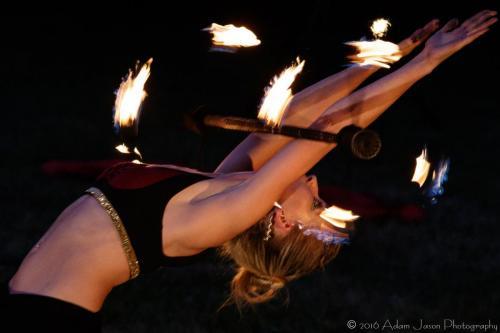 Dragon Staff 11 (Night on Fire)