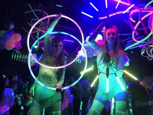 LED Stilt Walker Boston