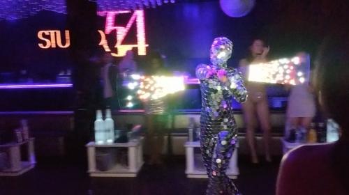 Mirror Performer/Human Disco Ball